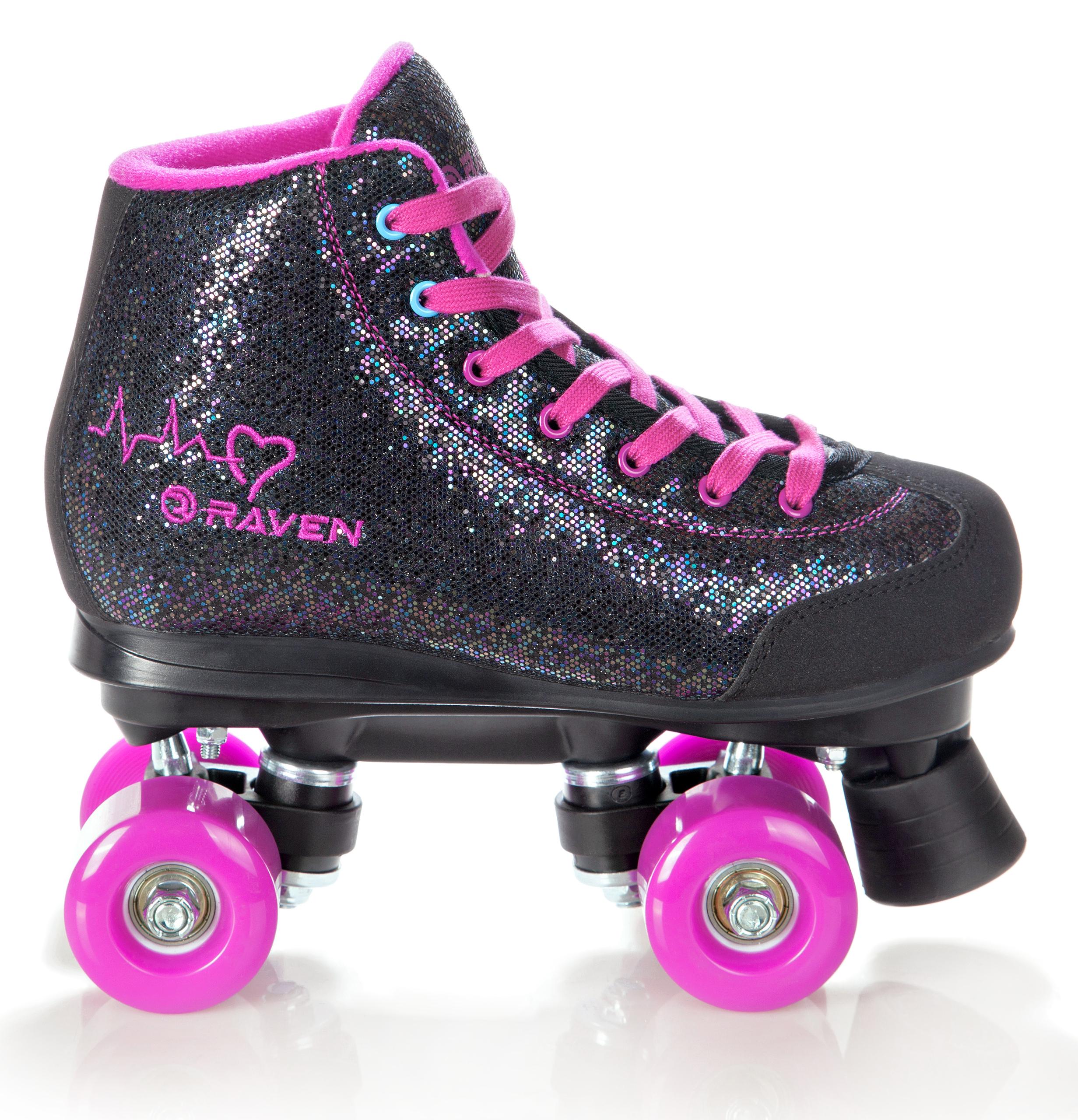Los Angeles großer Verkauf beste Turnschuhe Rollschuhe Roller Skates Rollerskates Raven Camille Neu ...